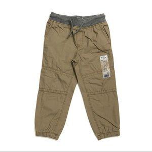OSHKOSH B'GOSH Toddler 3T Brown Casual Pants NWT